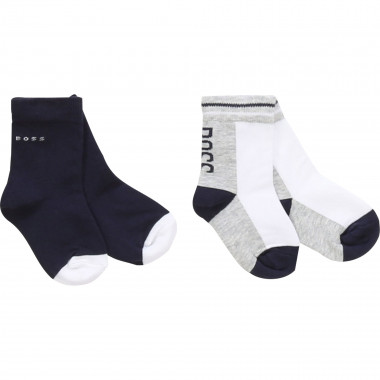 Lot of 2 pairs of socks BOSS for BOY
