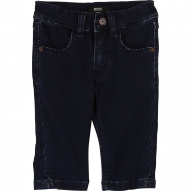 Raw denim stretch jeans BOSS for BOY