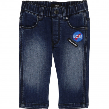 Slim denim stretch jeans BOSS for BOY