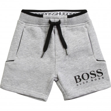 Fleece Bermuda shorts BOSS for BOY