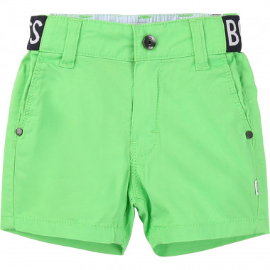 Cotton Bermuda shorts BOSS for BOY