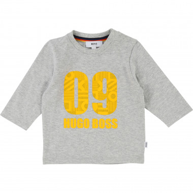 Embossed ink print T-shirt BOSS for BOY