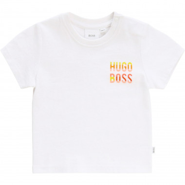 Cotton T-shirt BOSS for BOY