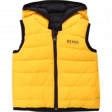 Reversible hooded down jacket BOSS for BOY