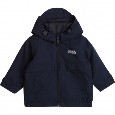 Hooded waterproof jacket BOSS for BOY