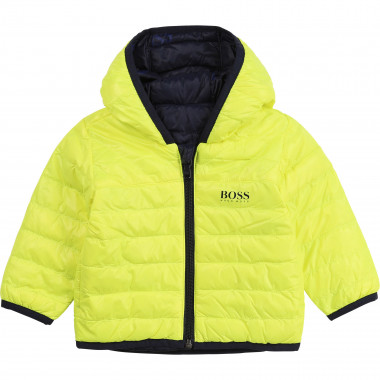 Reversible hooded windbreaker BOSS for BOY