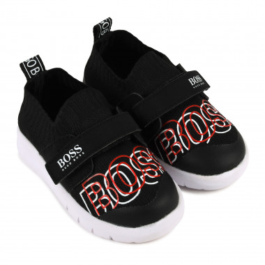 Velcro logo trainers BOSS for BOY
