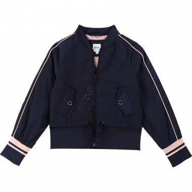 Zipped water-resistant jacket BOSS for GIRL
