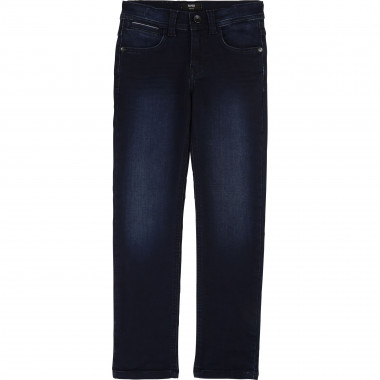 Slim jeans in brushed cotton BOSS for BOY