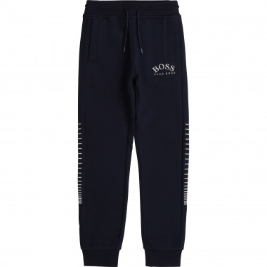 Embroidered joggers BOSS for BOY