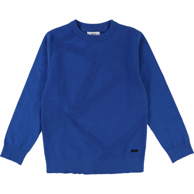 Novelty stitch jumper BOSS for BOY