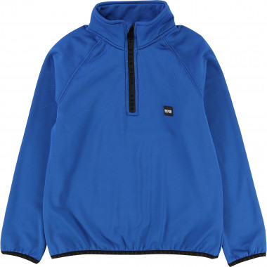 Half-zip sweatshirt BOSS for BOY