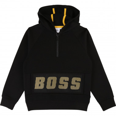 Zip-up hooded sweatshirt BOSS for BOY