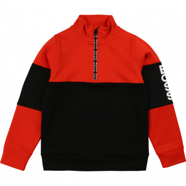 Technical polyester sweatshirt BOSS for BOY