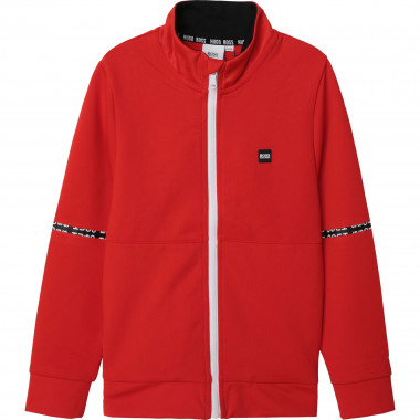 Zipped high-collar jacket BOSS for BOY