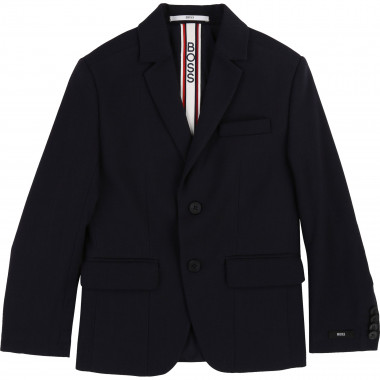 Slim-fit suit jacket BOSS for BOY