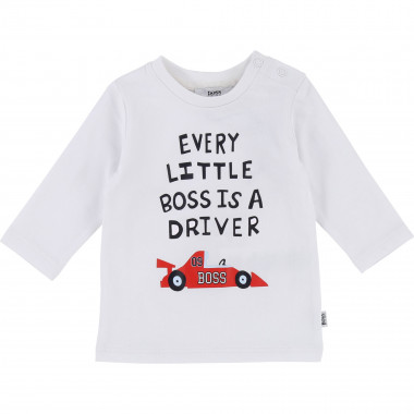 T-shirt with long sleeves BOSS for BOY