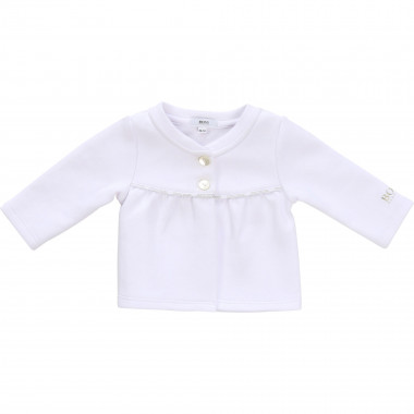Cardigan in cotton blend BOSS for GIRL