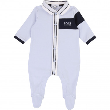 Yachting-style pyjama suit BOSS for BOY