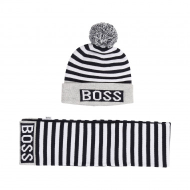Hat + scarf set BOSS for BOY