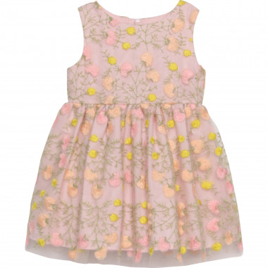 Sleeveless novelty dress CHARABIA for GIRL