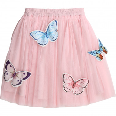 Tulle skirt with butterflies CHARABIA for GIRL