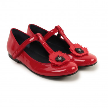 Leather Mary Janes CHARABIA for GIRL