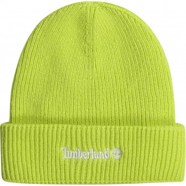 Knitted cotton cap TIMBERLAND for BOY