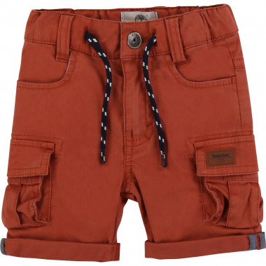 Cotton twill shorts TIMBERLAND for BOY