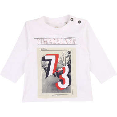 Organic cotton logo T-shirt TIMBERLAND for BOY