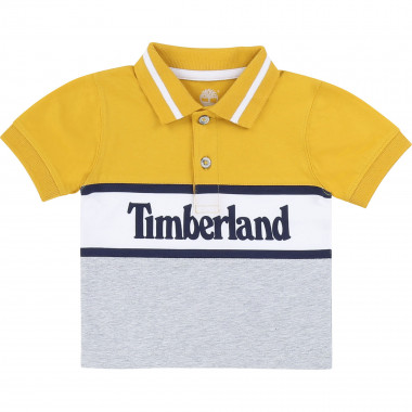 Organic cotton jersey polo TIMBERLAND for BOY