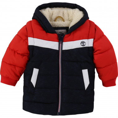 Removable sleeve padded jacket TIMBERLAND for BOY