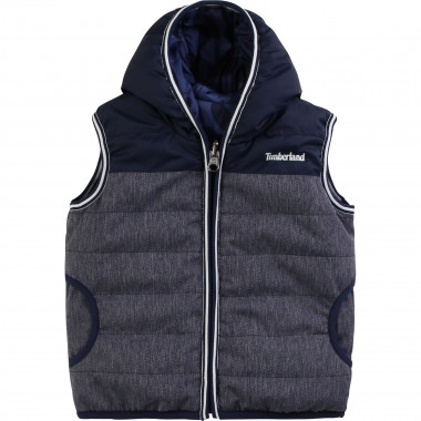 Reversible bodywarmer TIMBERLAND for BOY