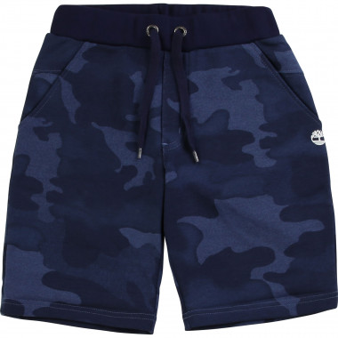 Camo print Bermuda shorts TIMBERLAND for BOY