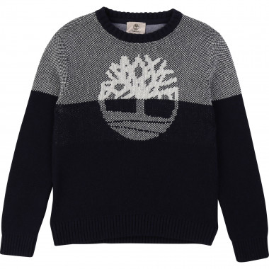 Decorative knit jumper TIMBERLAND for BOY