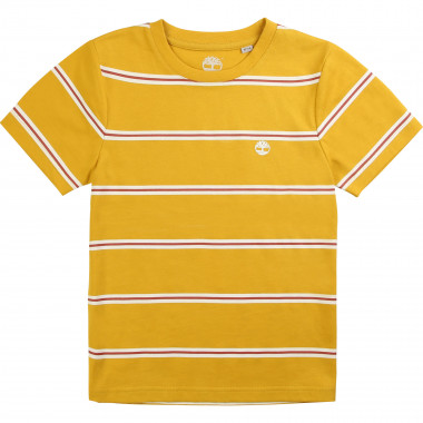 Striped organic cotton T-shirt TIMBERLAND for BOY