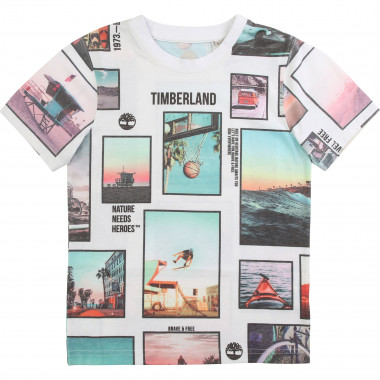 T-shirt with photo prints TIMBERLAND for BOY