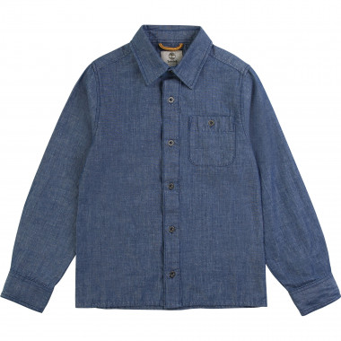 Cotton chambray shirt TIMBERLAND for BOY