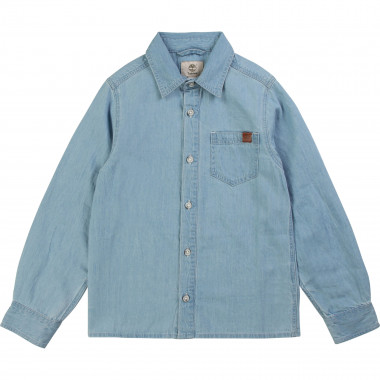 Jean shirt 100% cotton TIMBERLAND for BOY