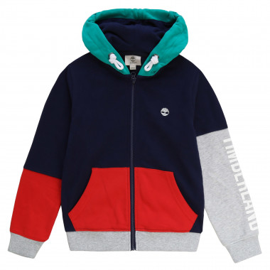 Multicoloured fleece cardigan TIMBERLAND for BOY