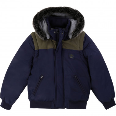 Lined waterproof jacket TIMBERLAND for BOY