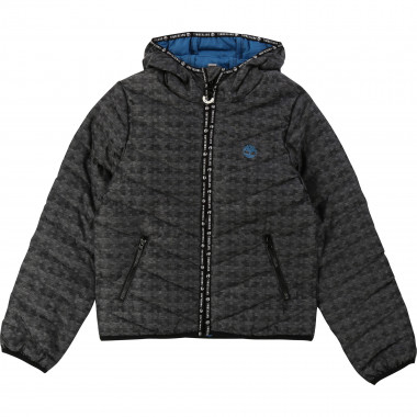 Hooded waterproof jacket TIMBERLAND for BOY