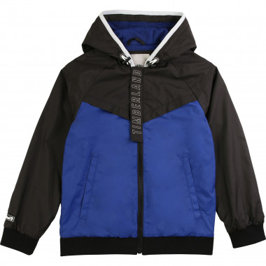 Lined waterproof windbreaker TIMBERLAND for BOY