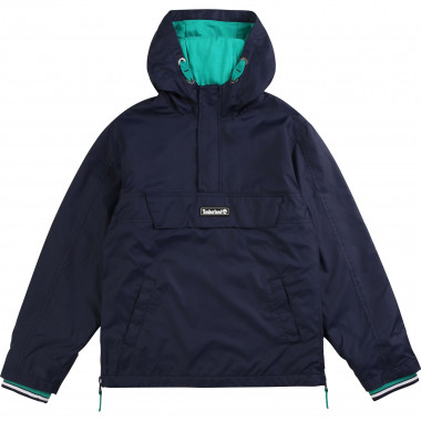 Coated waterproof windbreaker TIMBERLAND for BOY