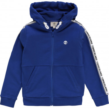 Zipped and hooded sweatshirt TIMBERLAND for BOY