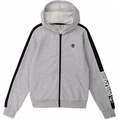 Hooded jogging cardigan TIMBERLAND for BOY