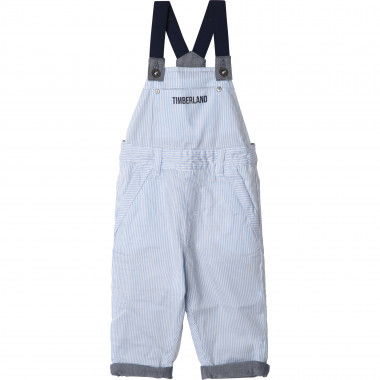 Reversible cotton dungarees TIMBERLAND for BOY