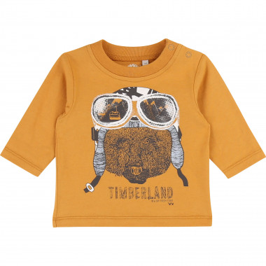 Printed cotton T-shirt TIMBERLAND for BOY