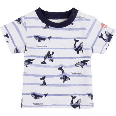 T-shirt 100% cotton printed TIMBERLAND for BOY