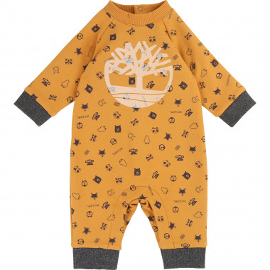 Printed fleece jumpsuit TIMBERLAND for BOY